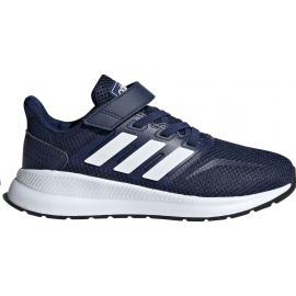 Zapatillas adidas Runfalcon C azul/blanco niño