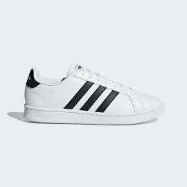 Zapatillas adidas Grand Court blanco/negro hombre