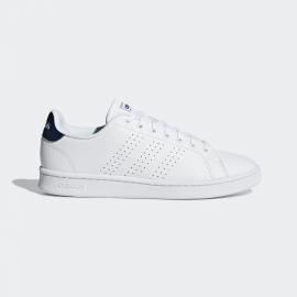 Zapatillas adidas Advantage blanco/azul hombre