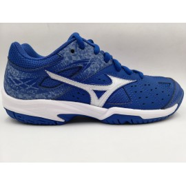 Zapatillas tenis Mizuno Break Shot AC azul junior