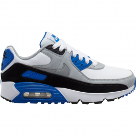 Zapatillas Nike Air Max 90 LTR blanco/negro/gris junior