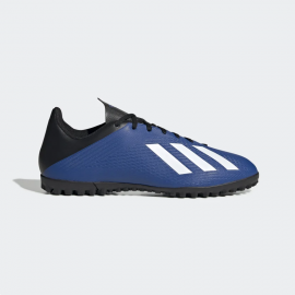 Zapatillas fútbol adidas X 19.4 TF azul/blanco hombre
