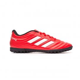 Zapatillas fútbol adidas Copa 20.4 TF rojo/blanco hombre