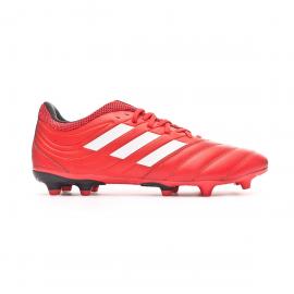 Zapatillas fútbol adidas Copa 20.3 FG rojo/blanco hombre
