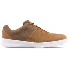 Zapato golf Footjoy Contour Casual marrón / hombre