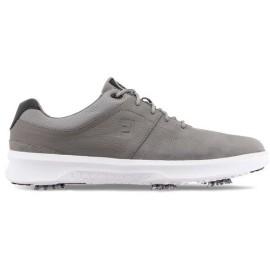Zapato golf Footjoy Contour gris / hombre