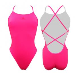 Bañador Turbo Natación sincronizada Sirene rosa mujer