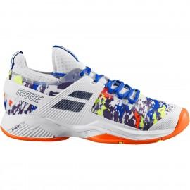 Zapatillas tenis Babolat Propulse Rage AC blanco/multicolor