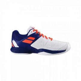 Zapatillas tenis Babolat Pulsion AC blanco/azul hombre