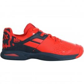 Zapatillas tenis Babolat Propulse AC rojo/azul junior