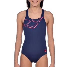 Bañador Arena Essentials Swim Pro azul niña
