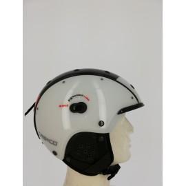 Casco SP-3 Competition blanco rojo negro