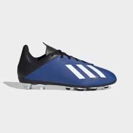 Zapatillas fútbol adidas X 19.4 FxG azul junior