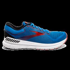 Zapatillas running Brooks Trascend 7 azul/rojo hombre