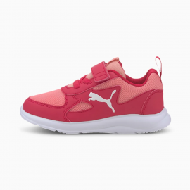 Zapatillas Puma Fun Racer AC/PS rosa/blanco niña