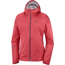 Chaqueta trail running Salomon Lightning Wp rosa mujer