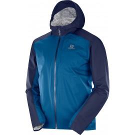 Chaqueta trail running Salomon Bonatti Wp azul hombre