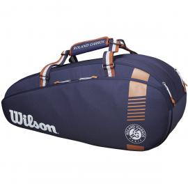 Raquetero Wilson Roland Garros Team 3pk azul