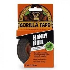 Cinta americana Gorila para tubeless  9,14 m x 25 mm negra