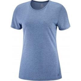 Camiseta outdoor Salomon Comet Classic Tee azul mujer