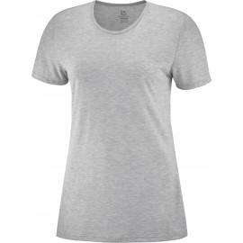 Camiseta outdoor Salomon Comet Classic Tee gris mujer