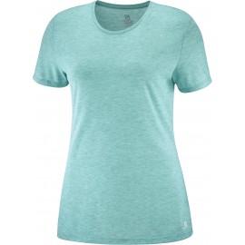 Camiseta outdoor Salomon Comet Classic Tee verde mujer