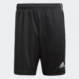 Pantalón fútbol adidas Core 18 TR negro/blanco hombre