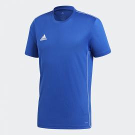 Camiseta fútbol adidas Core 18 azul/blanco hombre