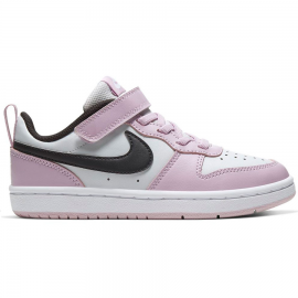 Zapatillas Nike Court Borough Low 2 blanco/rosa niña