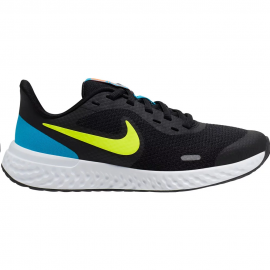 Zapatillas Nike Revolution 5 (GS) negro/amarillo junior
