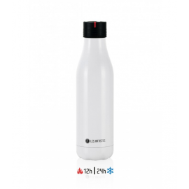 Botella termo UP Time'UP iso 500ml blanco brillante