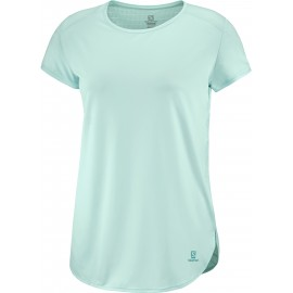 Camiseta outdoor Salomon Comet Breeze Tee verde mujer