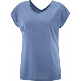 Camiseta outdoor Salomon Comet Ss Tee azul mujer