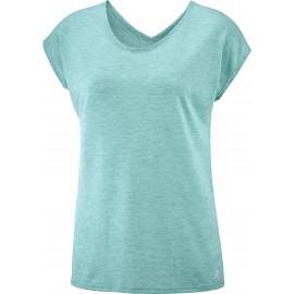 Camiseta outdoor Salomon Comet Ss Tee verde mujer