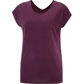 Camiseta outdoor Salomon Comet Ss Tee morado mujer