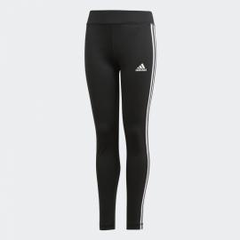 Mallas adidas Equipment 3 Stripes negro/blanco niña