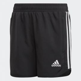 Pantalón corto adidas Jogging Training negro/blanco niña