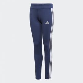 Mallas adidas Training Equipment 3 Stripes azul/blanco niña