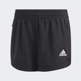 Pantalón corto adidas Jogging Training Woven negro niña