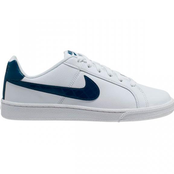 Zapatillas Nike Court Royale blanco/azul mujer - Deportes Moya