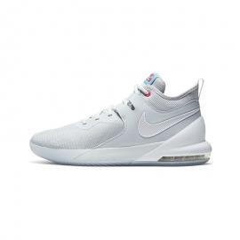 Zapatillas baloncesto Nike Air Max Impact blanco hombre