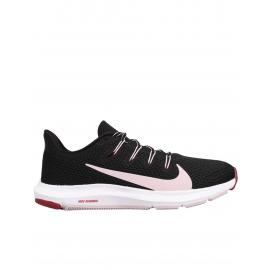 Zapatillas running Nike Quest 2 negro/rosa mujer