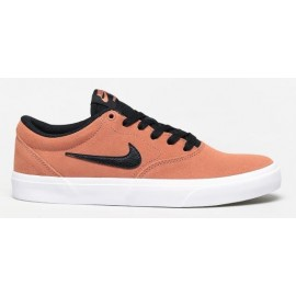 Zapatillas Nike SB Charge Suede Skate naranja/negro hombre