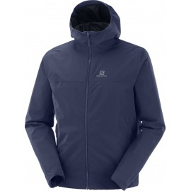 Chaqueta outdoor Salomon Explore Wp marino hombre