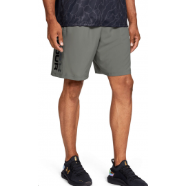 Pantalón Under Armour Woven Graphic Wordmark verde hombre