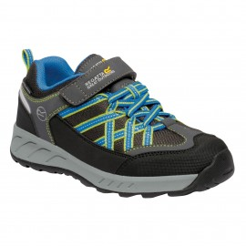 Zapatillas trekking Regatta Samaris V gris/azul junior