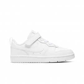 Zapatillas Nike Court Borough Low 2 (PS) blanco niño