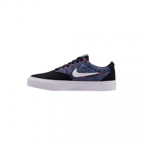 Zapatillas Nike SB Charge Canvas Premium azul/negro junior
