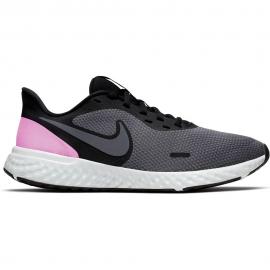 Zapatillas Nike Revolution 5 gris/negro mujer