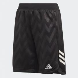 Pantalón corto adidas Training XFG negro/blanco junior